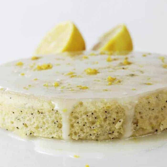 Instant Pot Lemon Poppy Seed Cake