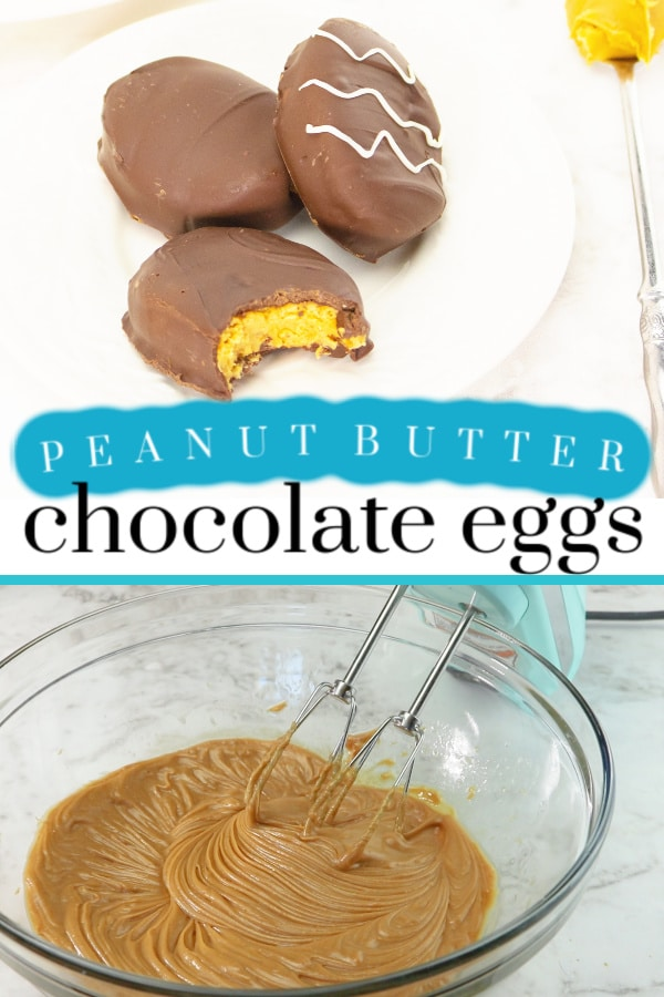 peanut butter chocolate eggs