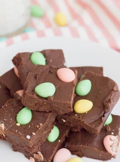 Easter Chocolate Fudge Recipe
