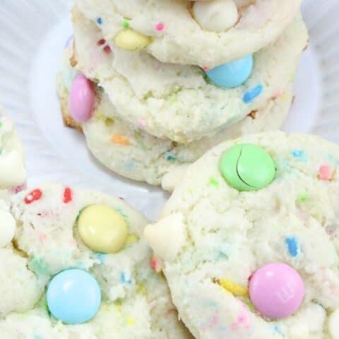 Funfetti Cake Cookies