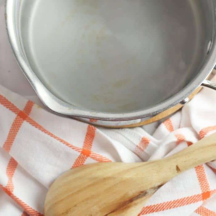 boiling pretzels