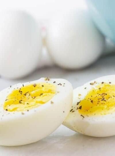 Instant Pot Duo Crisp Air Fryer Hard Boiled Eggs