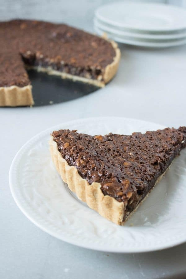 easy chocolate tart