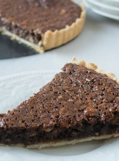 The Best Hazelnut Chocolate Tart Recipe