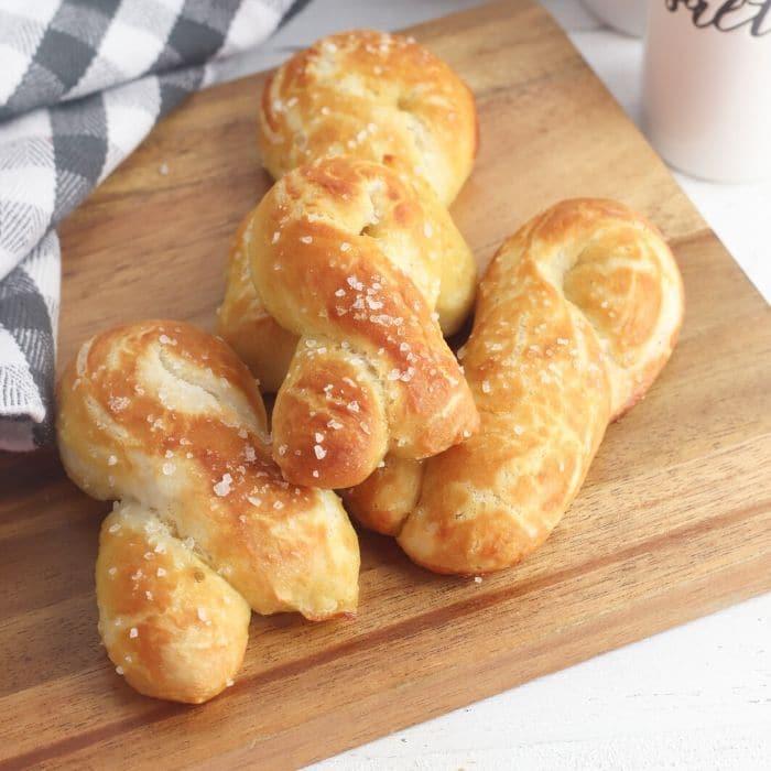 hot pretzels