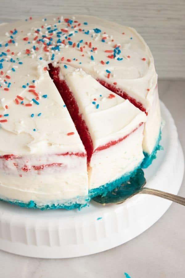 no bake cheesecake cake