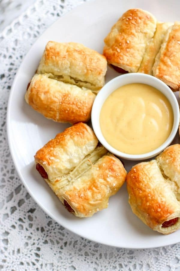 puff pastry pigs in a blanket