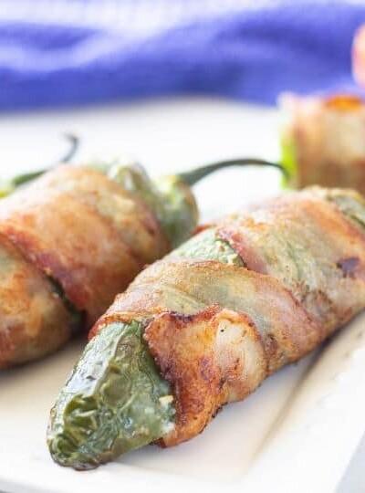 Ninja Foodi Grill Bacon Wrapped Jalapenos Recipe (with video)