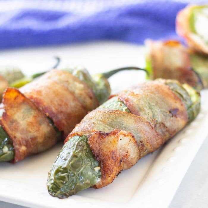 bacon wrapped jalapenos with cream cheese