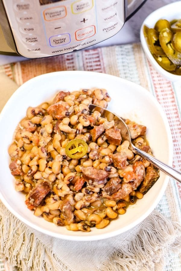 black eyed peas instant pot