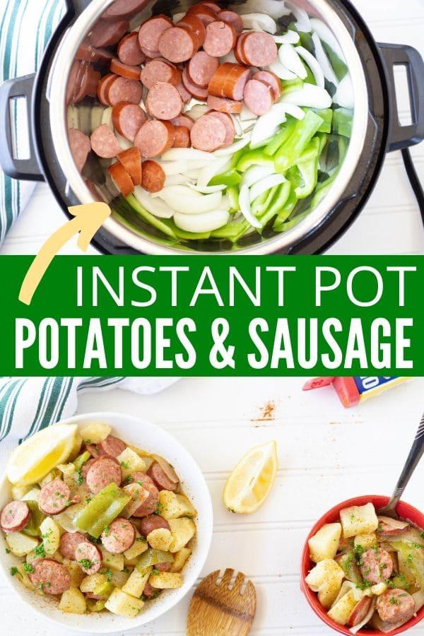 instant pot sausage and potatoes