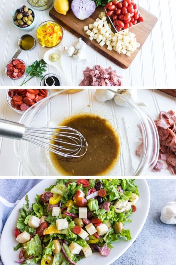 How to Make Antipasta Salad with Pictures of steps
