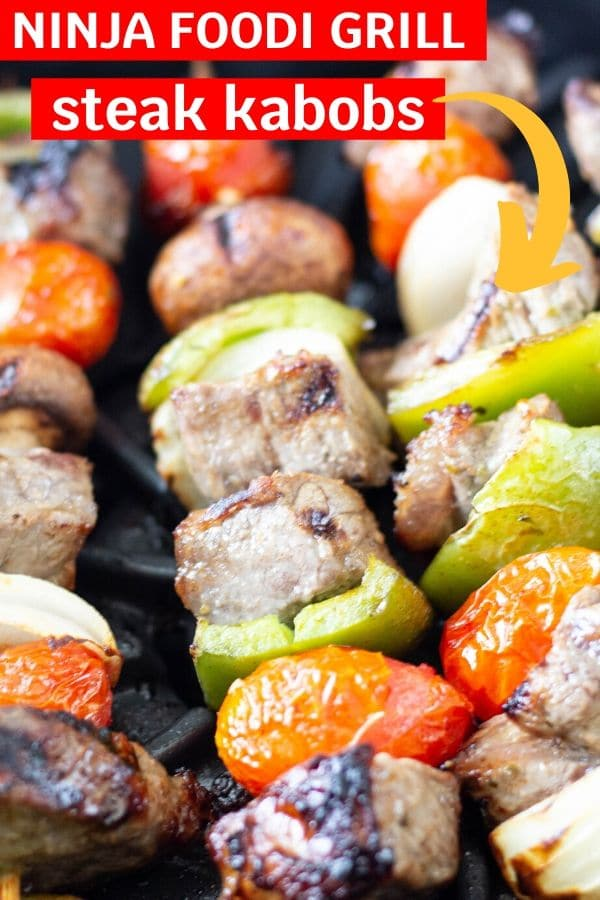 ninja foodi grill steak kabobs