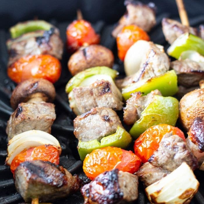 steak skewers