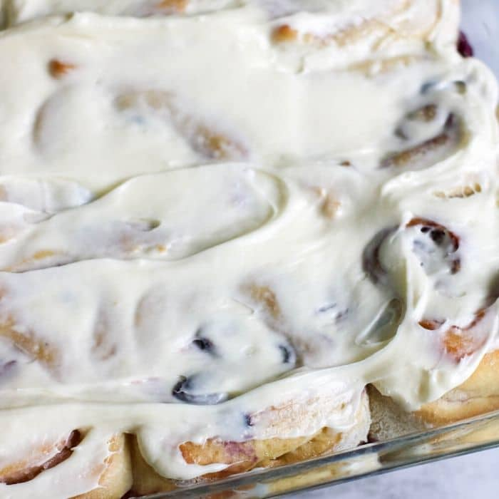 glazed sweet rolls