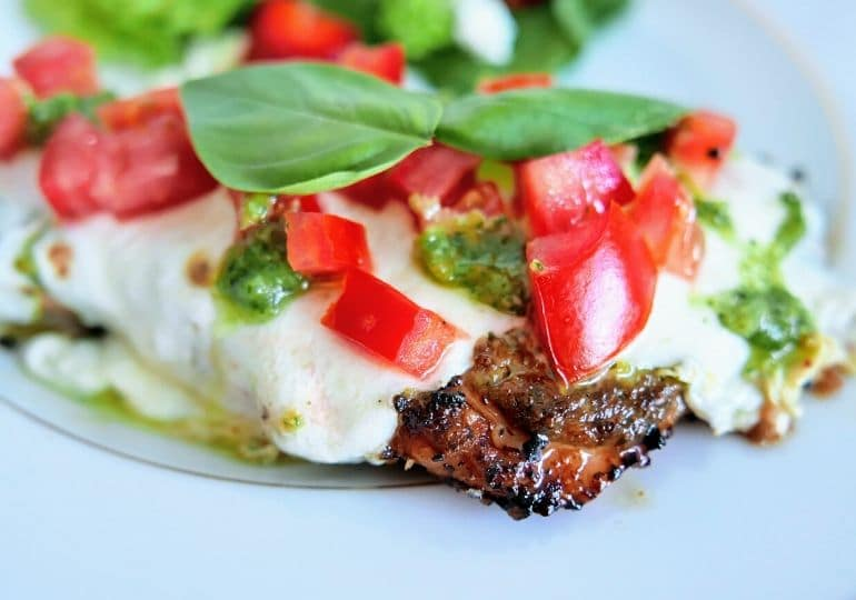 healthy bruschetta chicken