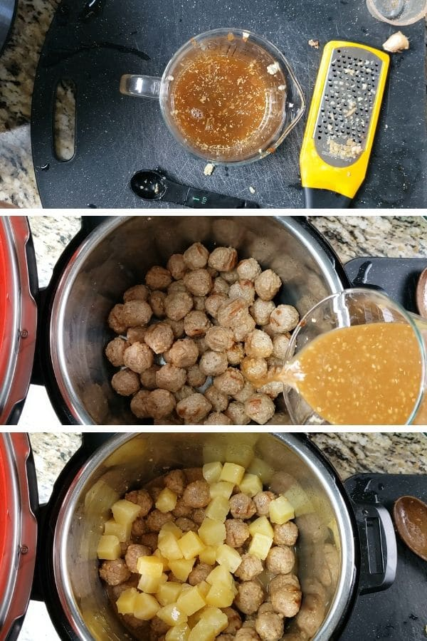 how to make instant pot hawaiian meatballs