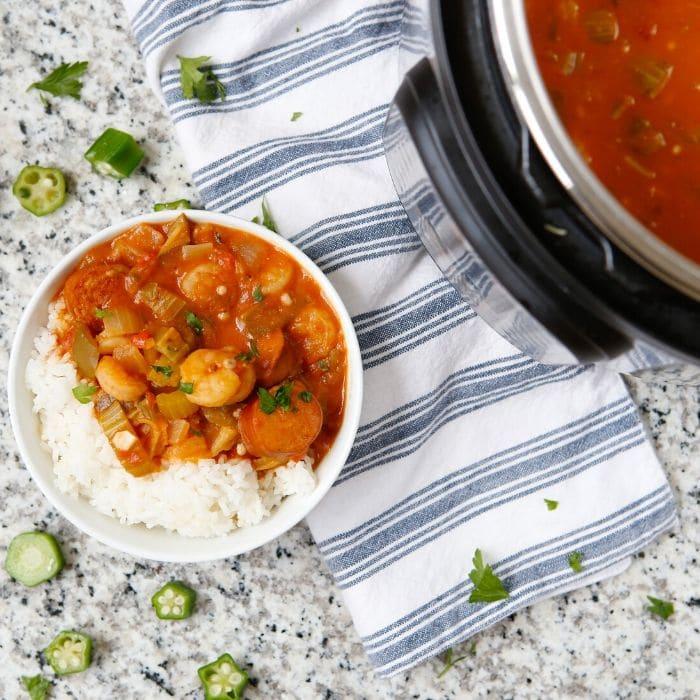 gumbo recipe instant pot