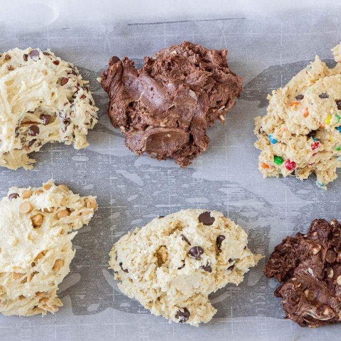 homemade cookie bars