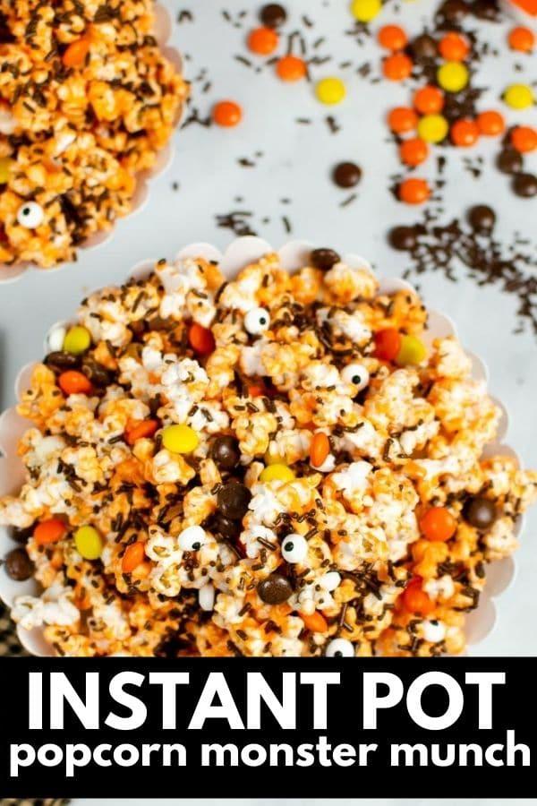 halloween popcorn candy mix