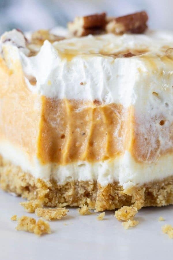 pumpkin fluff dessert