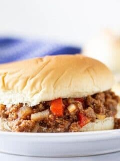 sloppy joe recipe slow cooker
