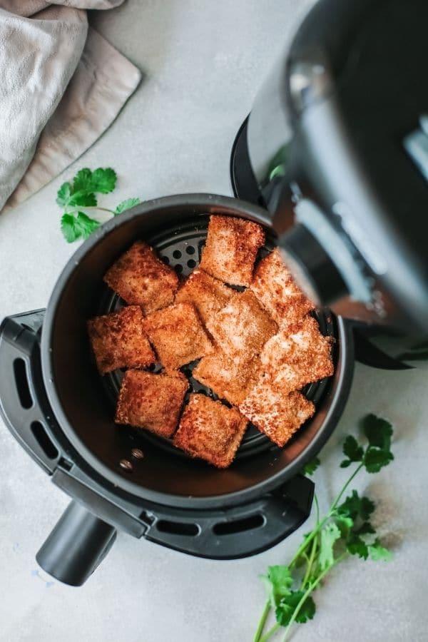 toasted ravioli in air fryer