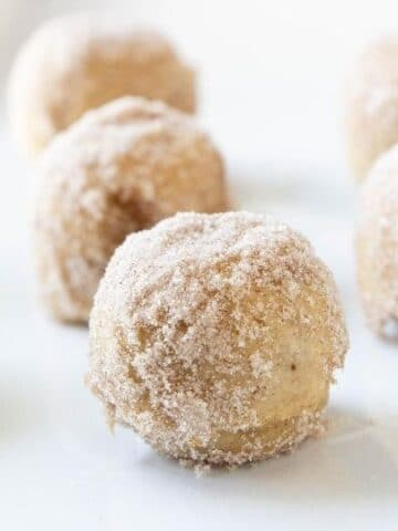 apple cider muffin donuts on plate