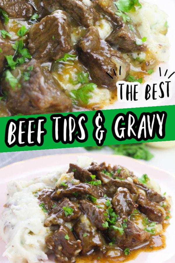 beef tips gravy
