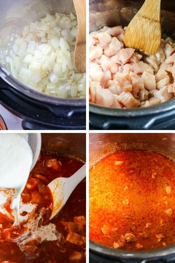 butter chicken step pictures on how to cook