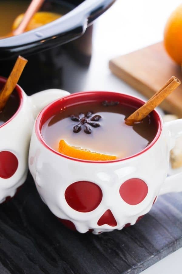 fall drink in Disney cup