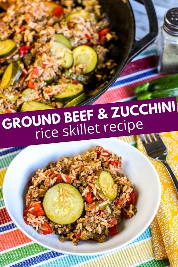 ground beef and zucchini