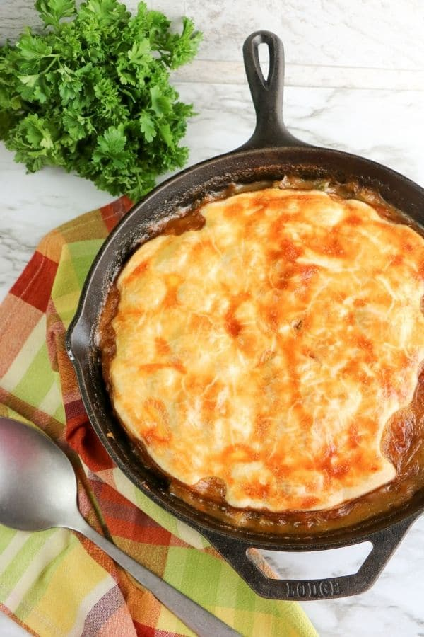 pot pie skillet recipe