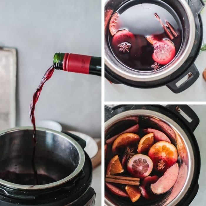 hot wine ingredient pictures