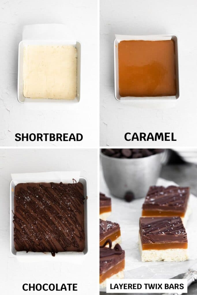 copycat twix bars pictures of how to make