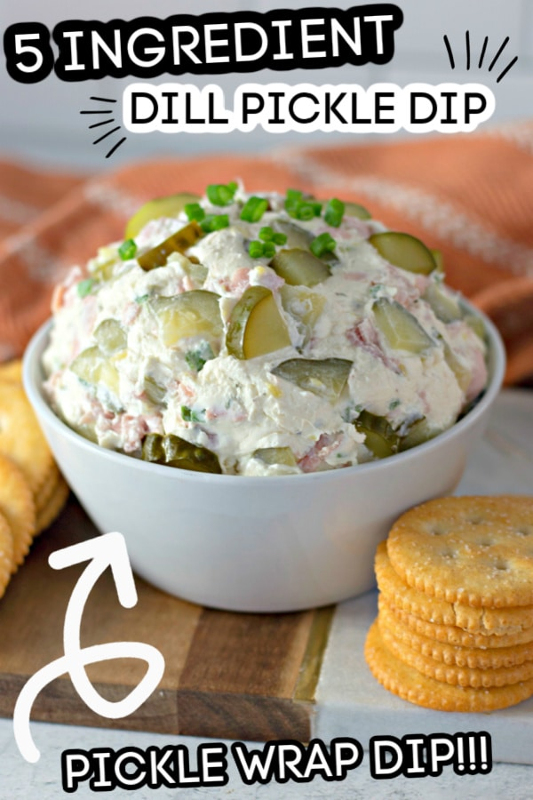 dill pickle dip image with words to say what your eating
