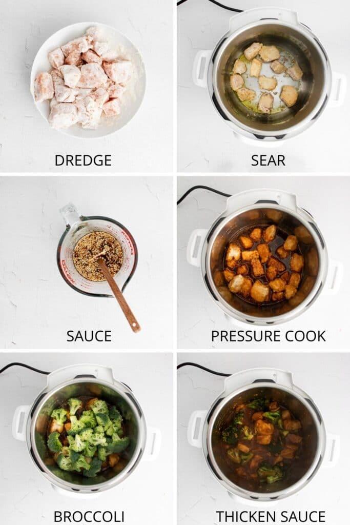 steps to make sesame chicken