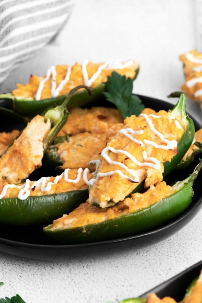 jalapeno poppers in a bowl on table