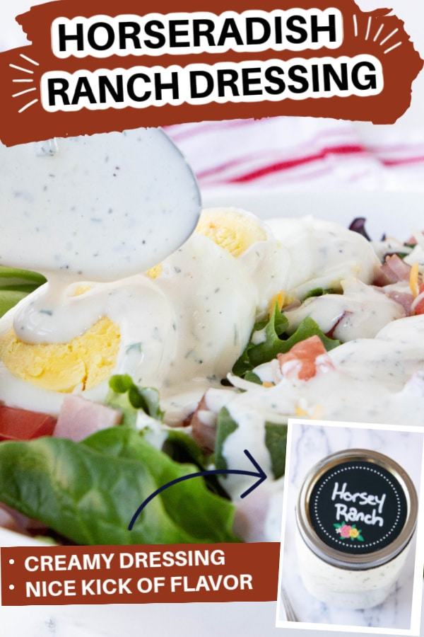 Ranch dressing with horseradish