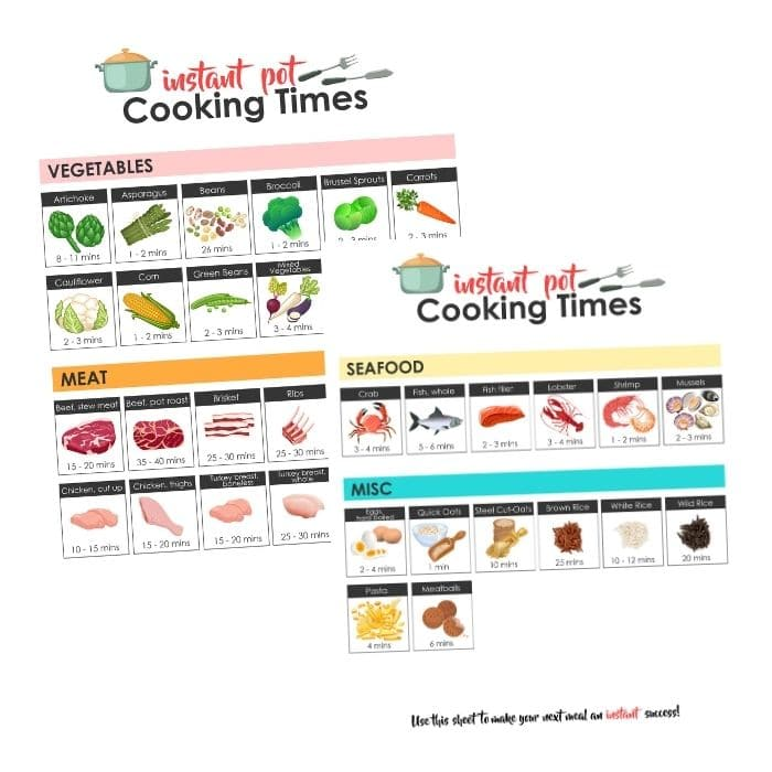 instant pot cooking sheet