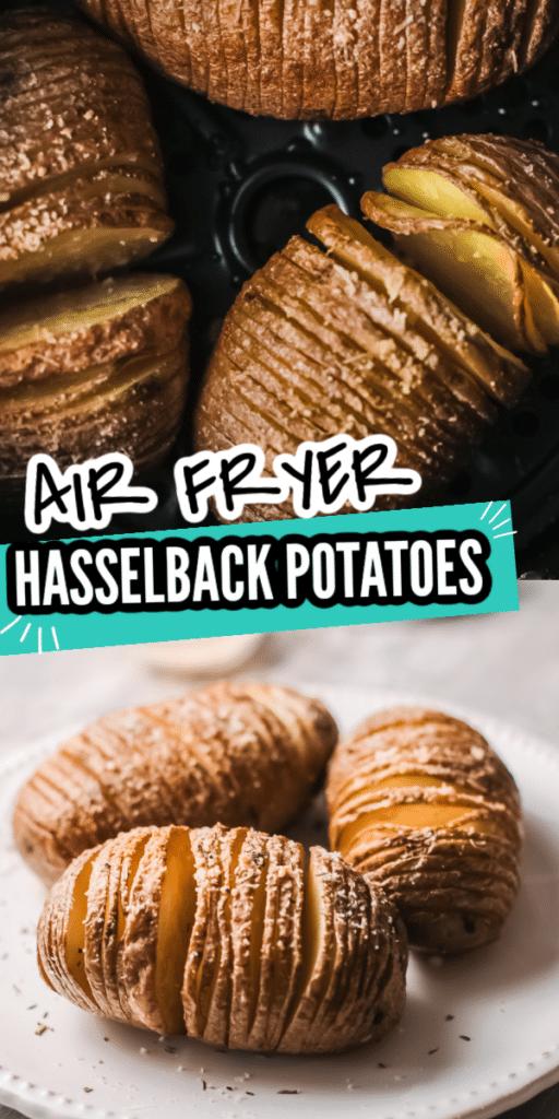 Hasselback Potatoes Air Fryer