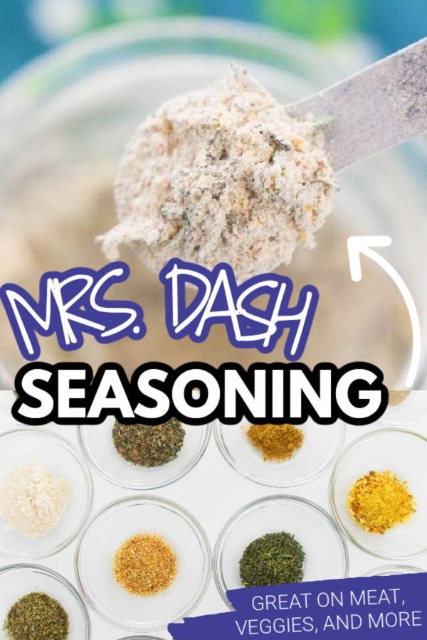 MRS dash seasoning