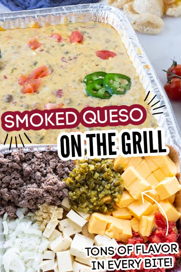 Smoked queso