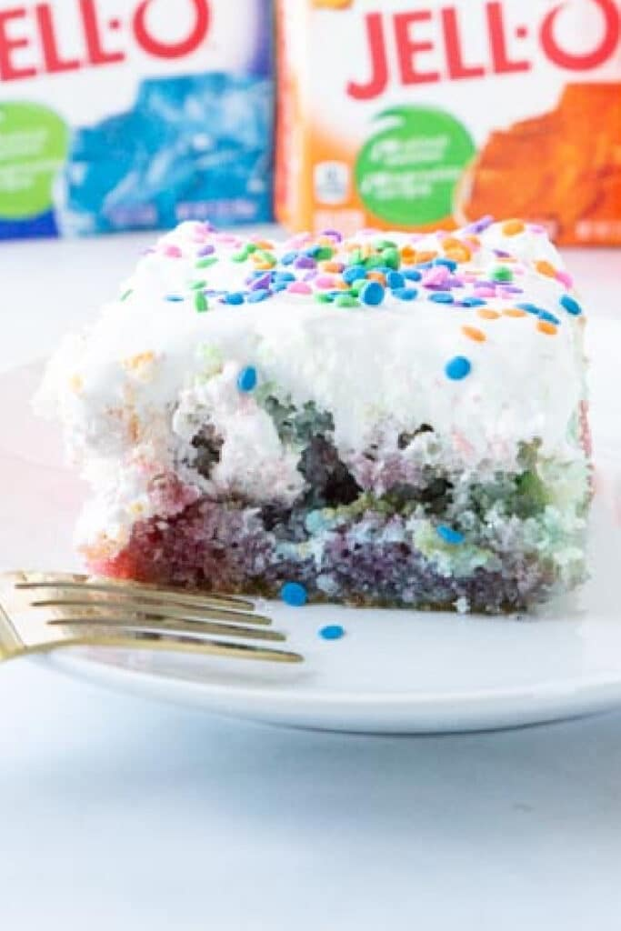 easy jello cake recipe