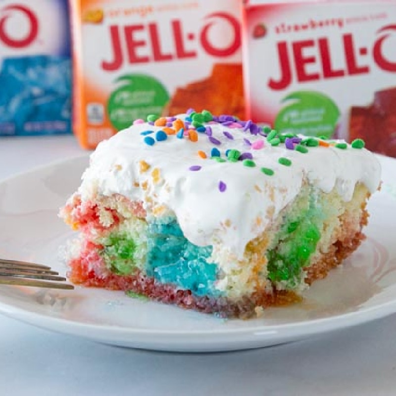 easy jello cake