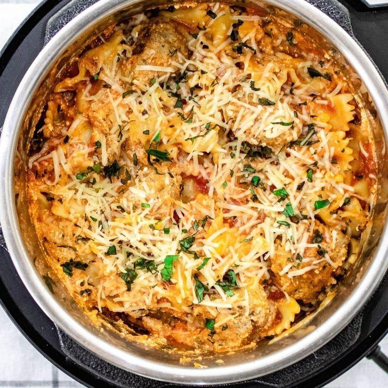 lasagna in pressure cooker