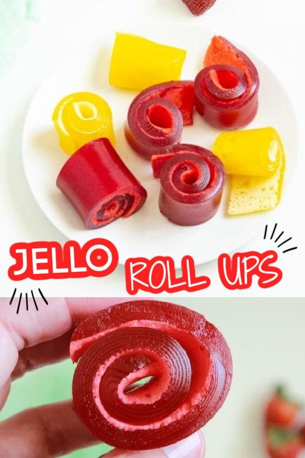 JELLO roll ups