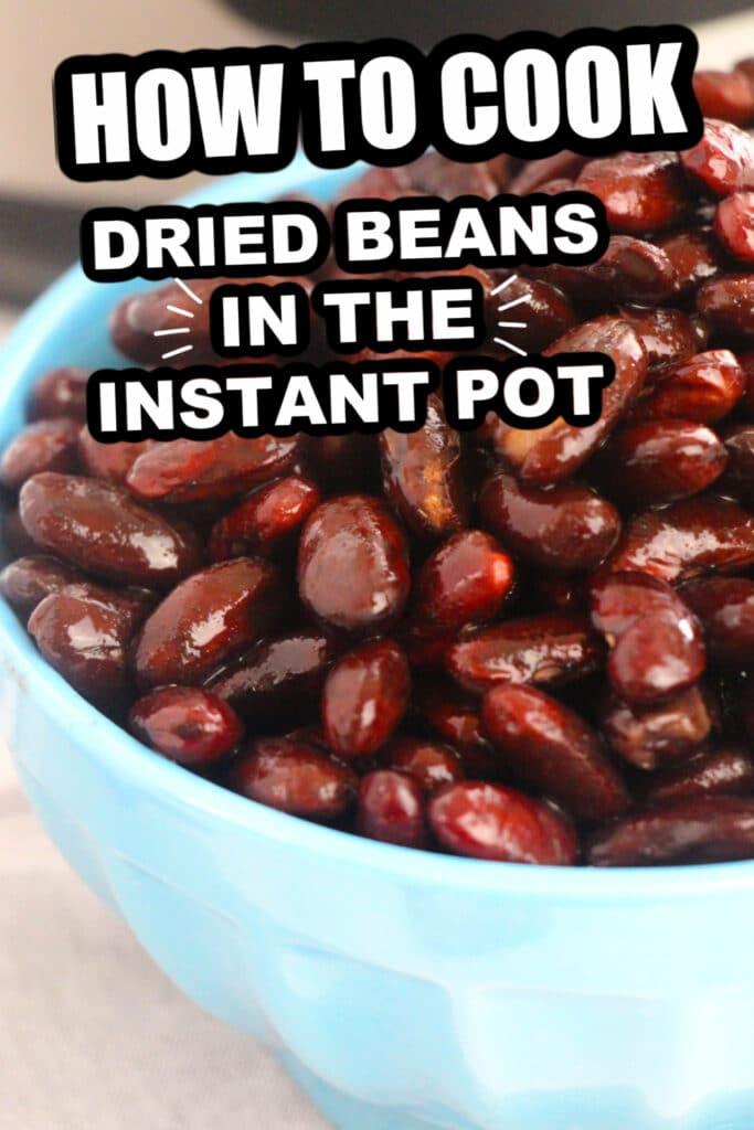 Instant pot beans