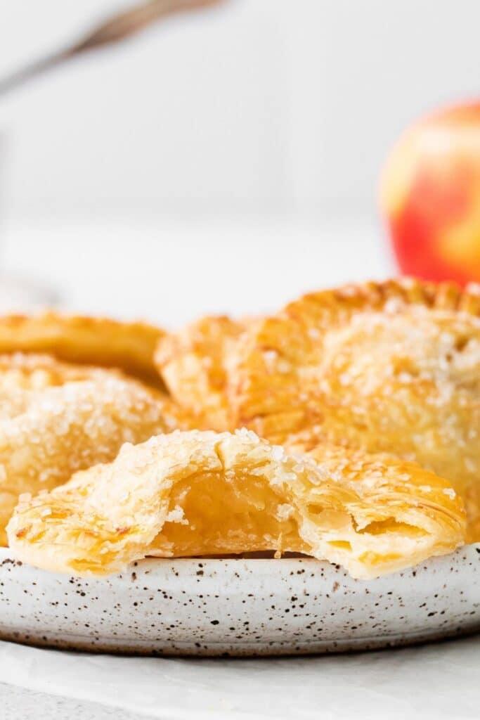 hand held apple pies