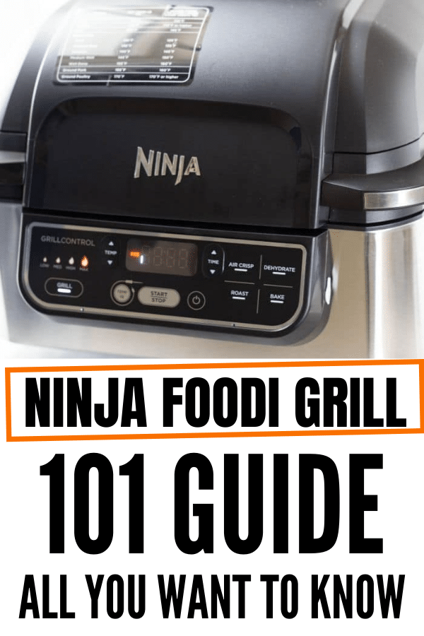 Ninja Grill On counter